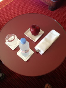 A Gift Left By Housekeeping In Our Hotel Room